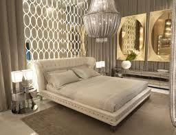 Luxury Interior Design For Master Bedroom Add Curtains On Back And Side Like The Picture