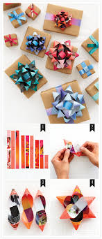 gift bow diy gift wrap hacks learn to make bows out of a magazine by 100