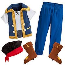 amazon com disney jake costume for boys size 7 8 new with