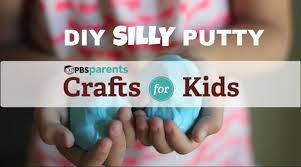 two ingredient silly putty crafts for kids pbs parents youtube
