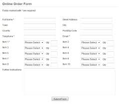 order forms professional order form template scripts for your