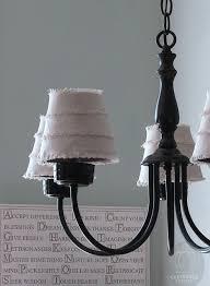 Diy Chandelier Lamp Diy Double Dip Flip Chandelier Lamp Shades Tarnished Royalty