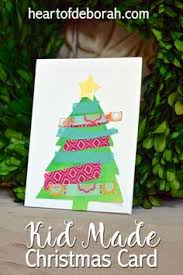 15 awesome christmas cards to make with kids christmas cards