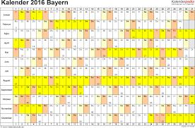 Kalender 2018 Bayern Gesetzliche Feiertage Kalender 2016 Bayern Ferien Feiertage Excel Vorlagen