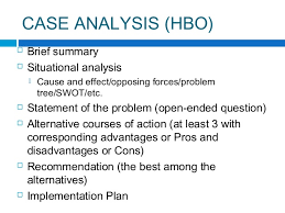 case analysis any organization 5 case study research2 suggested