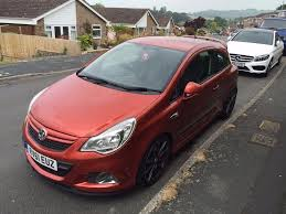 opel orange vauxhall corsa vxr nurburgring edition chili orange in