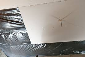 How To Sheetrock A Ceiling by How To Install Drywall Ceiling Howtospecialist How To Build