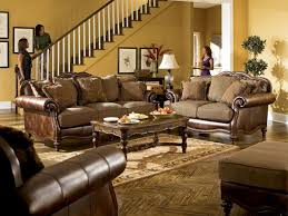 fabric living room sets enthralling ashley living room set using carved coffee table legs