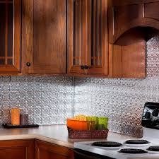 Aluminum Backsplash Kitchen Fasade 18 In Inside Corner Decorative Wall Tile Trim In Brushed