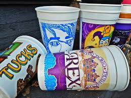 mardi gras cups a swig of history the mardi gras cup where y at