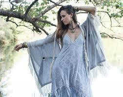 Shabby Chic Plus Size Clothing by Empress Bohemian Dress Lace Hippie Boho Wedding Bride