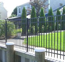 onguard ornamental aluminum fence residential starling academy