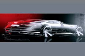 future audi a9 audi prologue concept sketches revealed