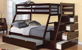 Full Size Bunk Bed With Futon - Full size bunk bed with futon on bottom