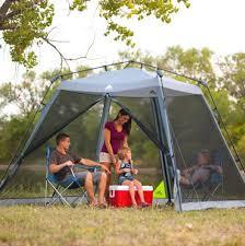 ozark trail backyard tent 10 u0027 x 10 u0027 instant screen house canopy
