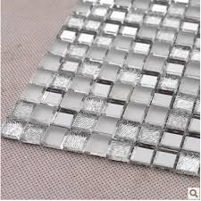 Mirror Backsplash Tiles by Mosaic Wall Stickers Mirror Tile Backsplash Z181 Crystal Glass