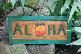 Tiki Home Decor Aloha