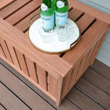 Diy Storage Box by Diy Outdoor Storage Box The Chronicles Of Home
