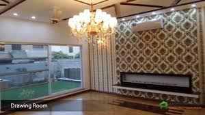 2 kanal new outclass bungalow with swimming pool and cinema in