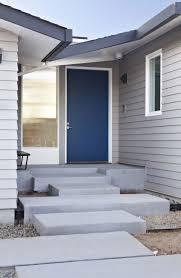 modern house door net zero energy modern house by klopf architecture