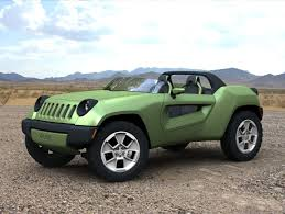 hyper green jeep 2008 jeep renegade concept
