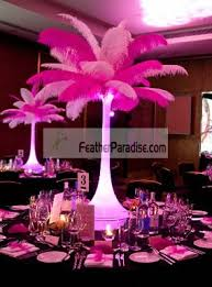 ostrich feather centerpiece feather plume palm tree wholesale mix sorted color ostrich feather