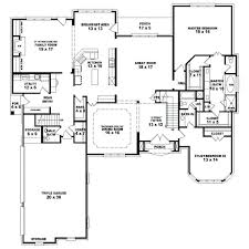four bedroom house plans one story level 1 single floor 4 bedroom house plans kerala single story 5
