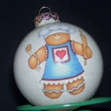 Custom Made Christmas Ball Ornaments by 40 Best Christmas Ball Gingerbread Men Images On Pinterest