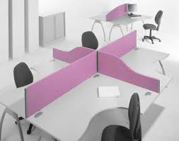 two person desk home office two person desk home office with coolest purple devider and nice