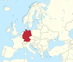 germany europe map germany on europe map major tourist attractions maps with