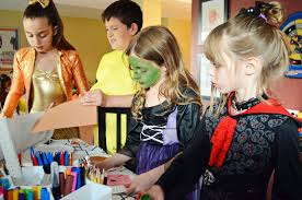 Halloween Crafts For 8 Year Olds Woman In Real Life The Art Of The Everyday A Halloween Birthday Party