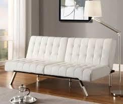 white leather futon sofa white leather futon sofa bed bm furnititure