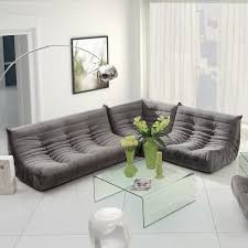 furniture modern grey sectional couch decorating idea in open