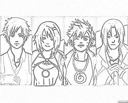 shippuden printable coloring pages