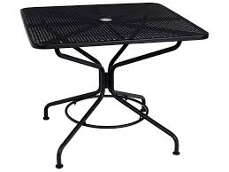 Woodard Vintage Wrought Iron Patio Furniture - patio dining tables u0026 outdoor dining tables patioliving