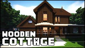Cottege by Minecraft Wooden Cottage Youtube