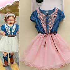 pink denim dress country barn wedding country girls cowgirl