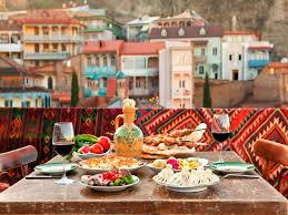 national cuisine of georgian national cuisine