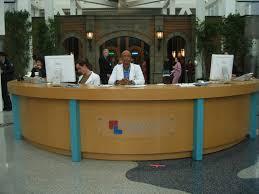 Hospital Reception Desk Hospital Lobby
