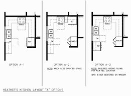 image of finished kitchen layouts kitchen floor plan designs