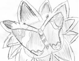 line drawing of a butterfly on a flower by fran48 on deviantart