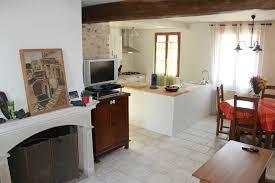 plan de maison avec cuisine ouverte plan cuisine ouverte sur salon plan maison plain pied chambres with