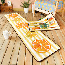 Yellow Runner Rug Kitchen Extraordinary Lemon Kitchen Rug Lemon Kitchen Rug Target