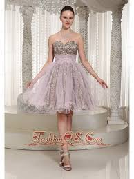 knee length sweetheart leopard and organza prom dress 2013 98 58
