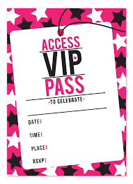 32 best vip ticket pass template designs for your events thogati
