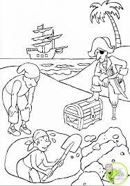 coloriage le trésor des pirates des caraïbes dans la catégorie