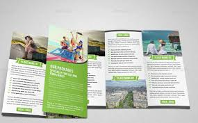 adobe tri fold brochure template 40 best travel and tourist brochure design templates 2018 designmaz