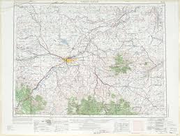 Montana Map Cities by Great Falls Topographic Maps Mt Usgs Topo Quad 47110a1 At 1
