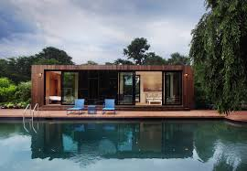 Pool House Ideas by Cocoon9 Modular Southampton Pool House Interior Cocoon9 Cabin