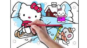 hello kitty coloring book hello kitty christmas eve hello